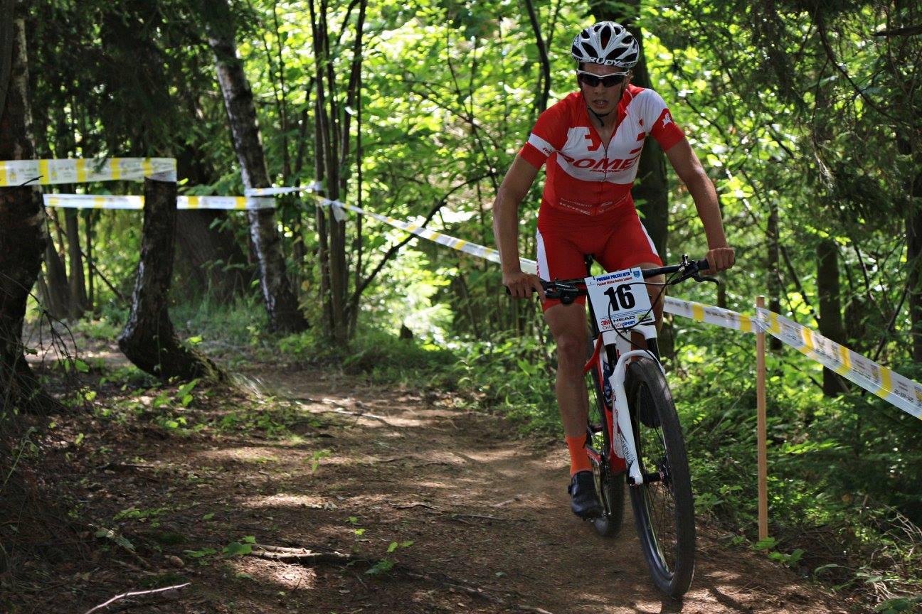 Maciej Jeziorski (Romet MTB Team) – Puchar Polski XCO, Skomielna Biała