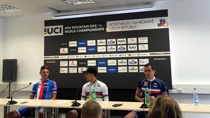 mistrzostwa świata kolastwo górskie konferencja prasowa elita mężczyzn 2016 nove mesto na morave