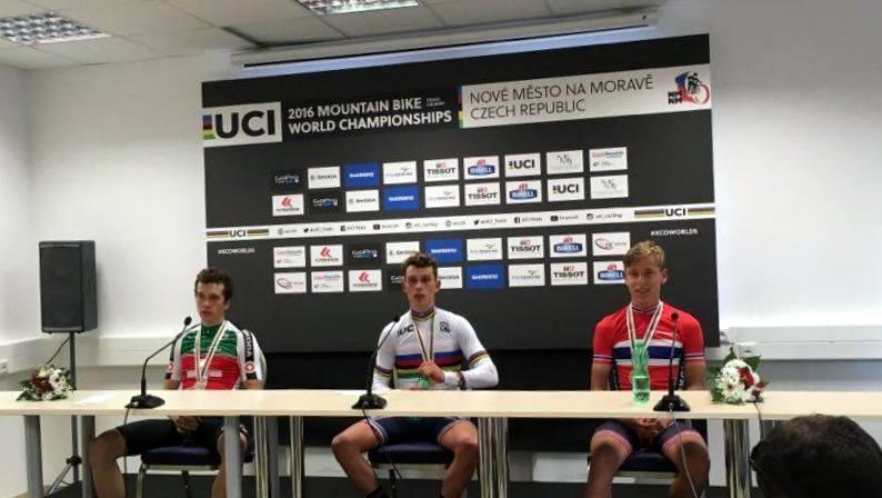 mistrzostwa świata kolastwo górskie konferencja prasowa junior 2016 nove mesto na morave
