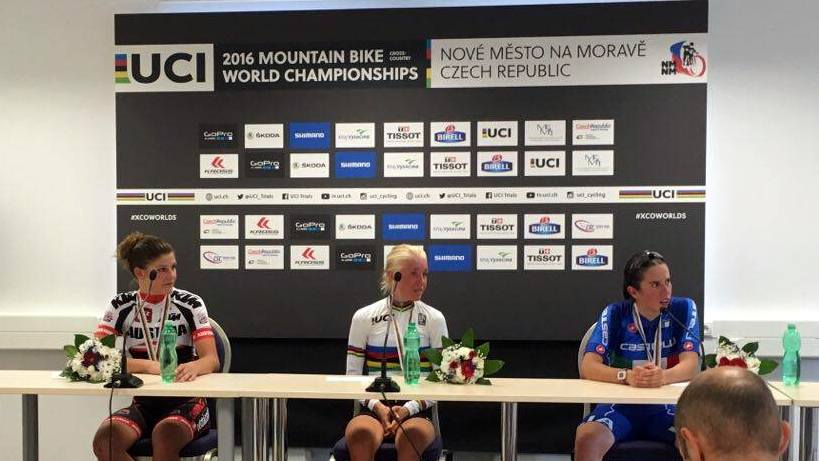 mistrzostwa świata kolastwo górskie konferencja prasowa juniorka 2016 nove mesto na morave