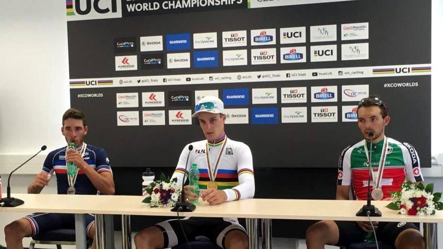 mistrzostwa świata kolastwo górskie konferencja prasowa u23m 2016 nove mesto na morave
