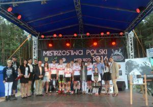 mistrzostwa polski w kolarstwie górskim 2016 gielniów maja włoszczowska bartłomiej wawak marceli bogusławski aleksandra podgórska
