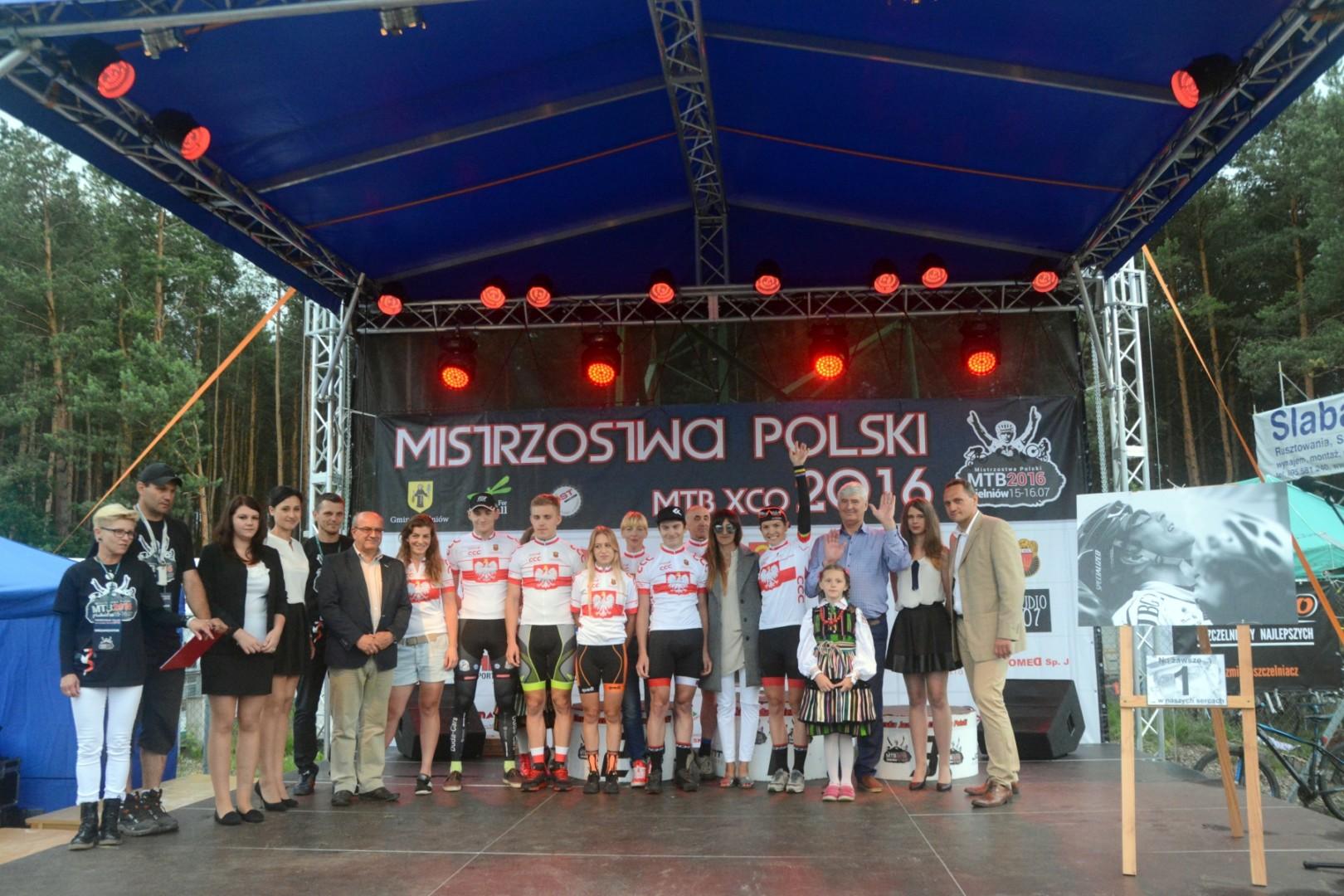 Wyniki Mistrzostw Polski w kolarstwie górskim – Gielniów 2016