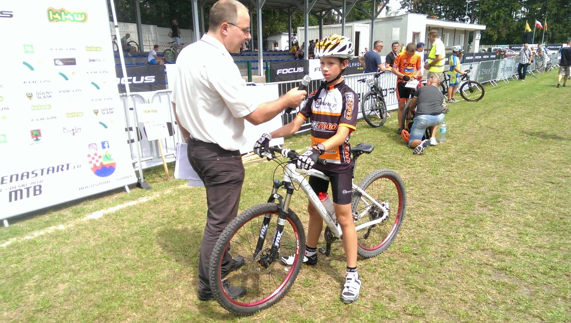 Antoni Świderski (Trezado BikeTires.pl) – Górale na start, Boguszów Gorce
