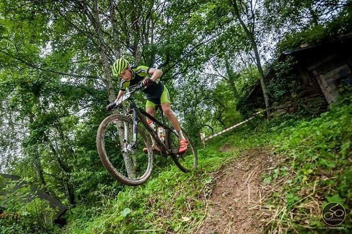 Arkadiusz Mirek (KCP Elzat Bieniasz Bike) – Puchar Tarnowa, Las Lipie