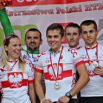 LKK LUKS Sławno - (Tomasz Budziński, Marcin Budziński, Arkadiusz Wach, Marta Turoboś) 2016 drużynowy mistrz polski