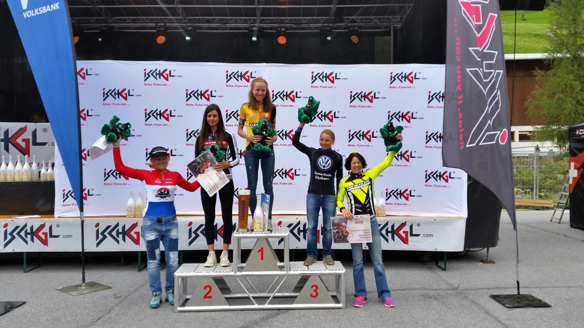 Michalina Ziółkowska (Volkswagen Samochody Użytkowe MTB Team) – Ischgl Ironbike Marathon, Austria