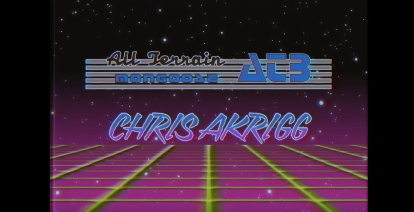 Chris Akrigg – Retro All Terrain Biking [wideo]