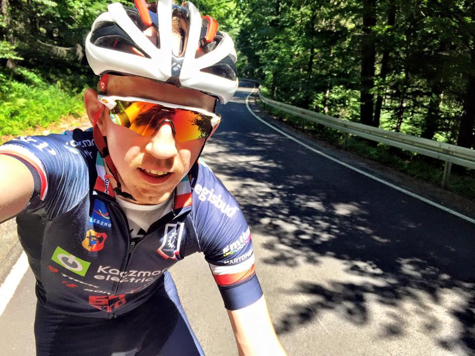 Marek Konwa wraca na rower
