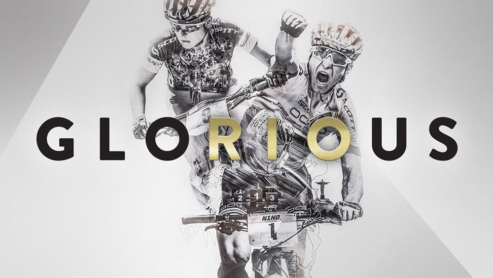"""GloRIOus – """"złote"""" rowery Nino Schurtera i Jenny Rissveds"""