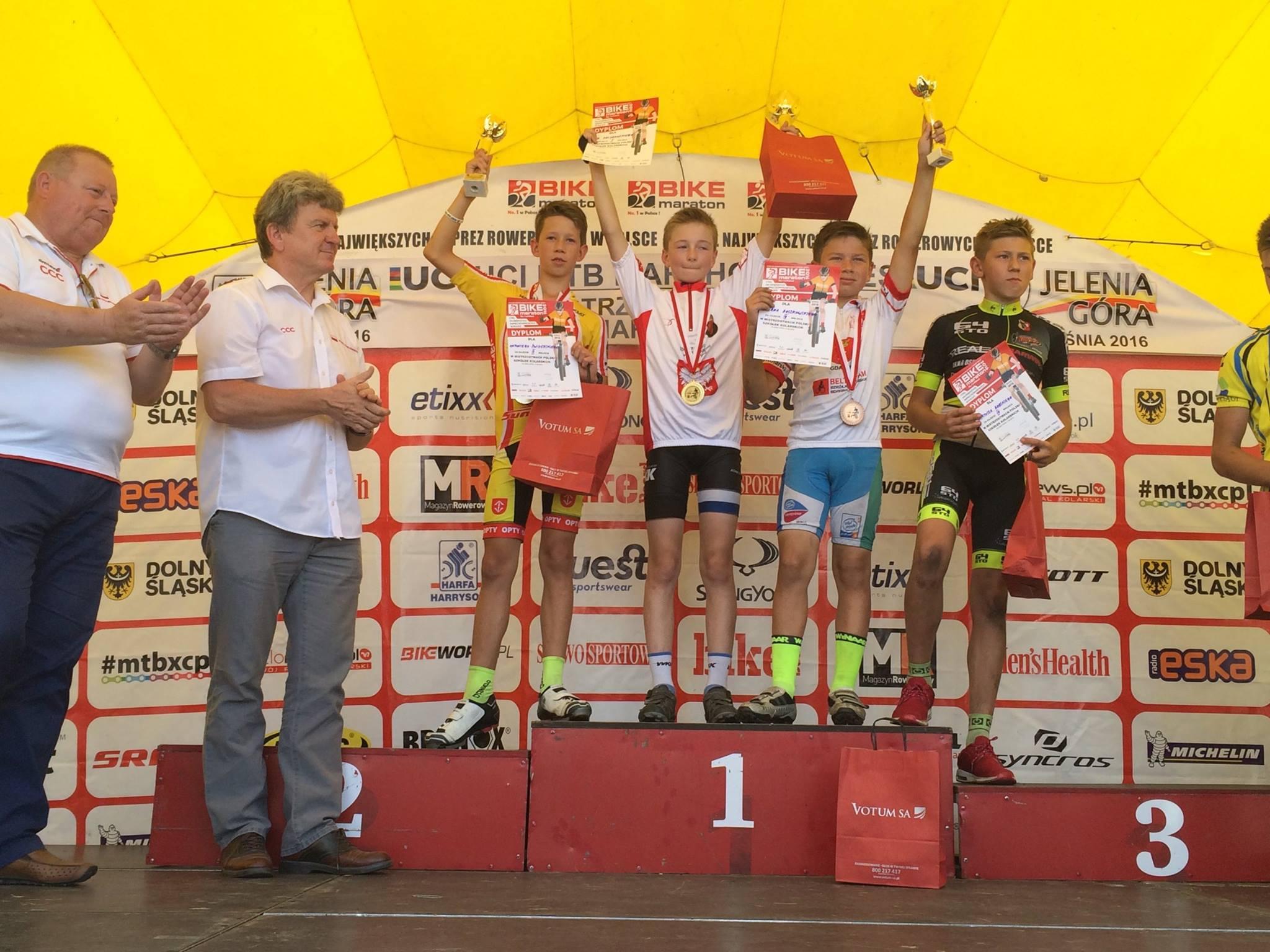 Antoni Świderski (GKK Opty Mazowsze) – Mistrzostwa Szkółek Kolarskich MTB, Jelenia Góra