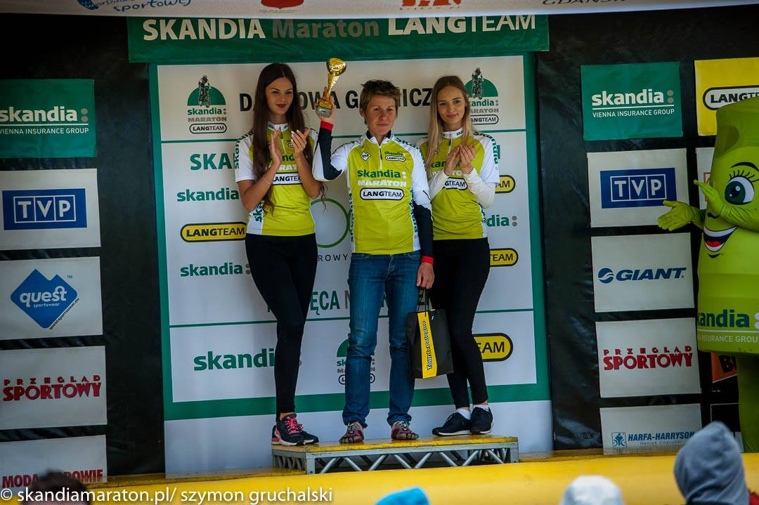 Magdalena Sadłecka (Euro Bike Kaczmarek Electric) – Skandia Maraton Lang Team, Dąbrowa Górnicza
