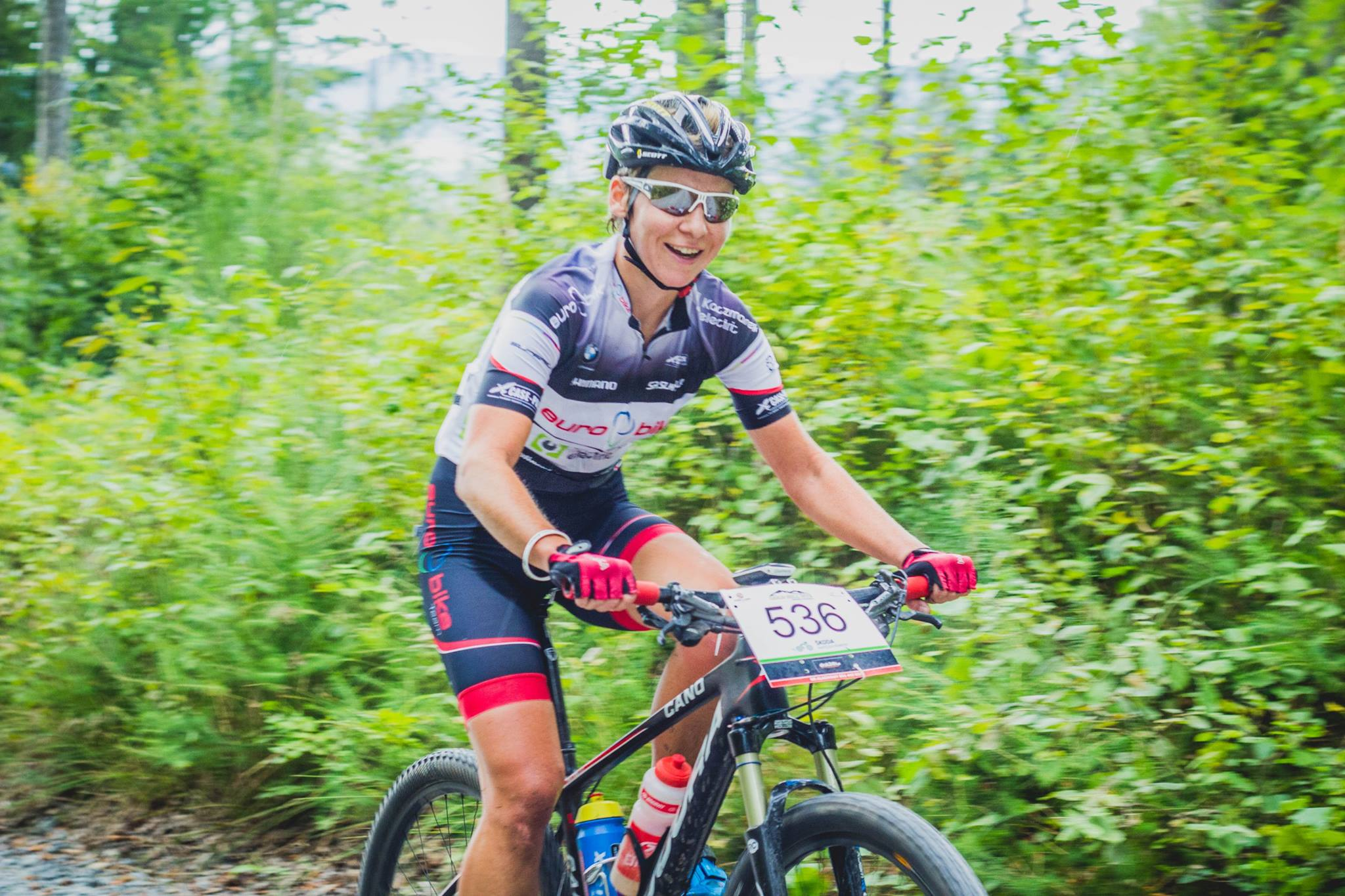 Magdalena Sadłecka (Euro Bike Kaczmarek Electric Team) – CykloOpawy, Gold Hill MTB Maraton by Kellys, Głuchołazy