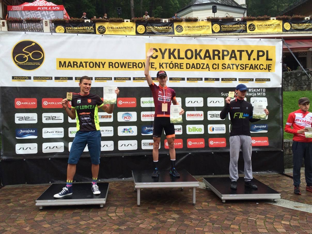 Mateusz Mucha (72D Windsport powered by Oshee) – Cyklokarpaty, Szczawnica