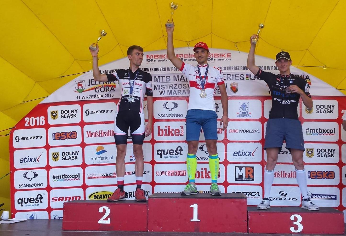 Michał Górniak (Duda Cars TP-LINK Rybczyński Bikes) – Mistrzostwa Polski w Maratonie MTB, Jelenia Góra