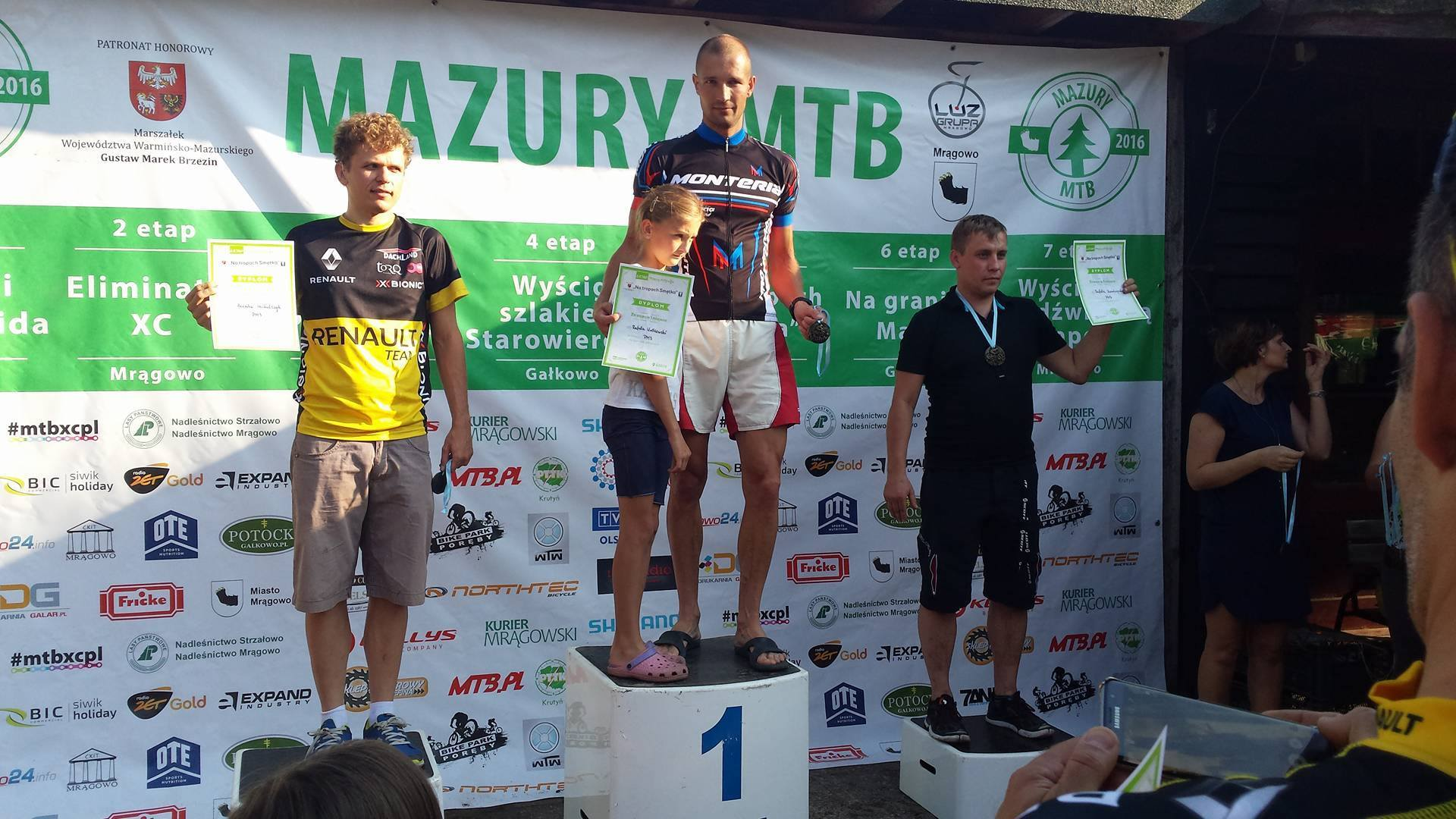 Rafał Wróblewski (Monteria Racing Team) – Mazury MTB, Krutyń