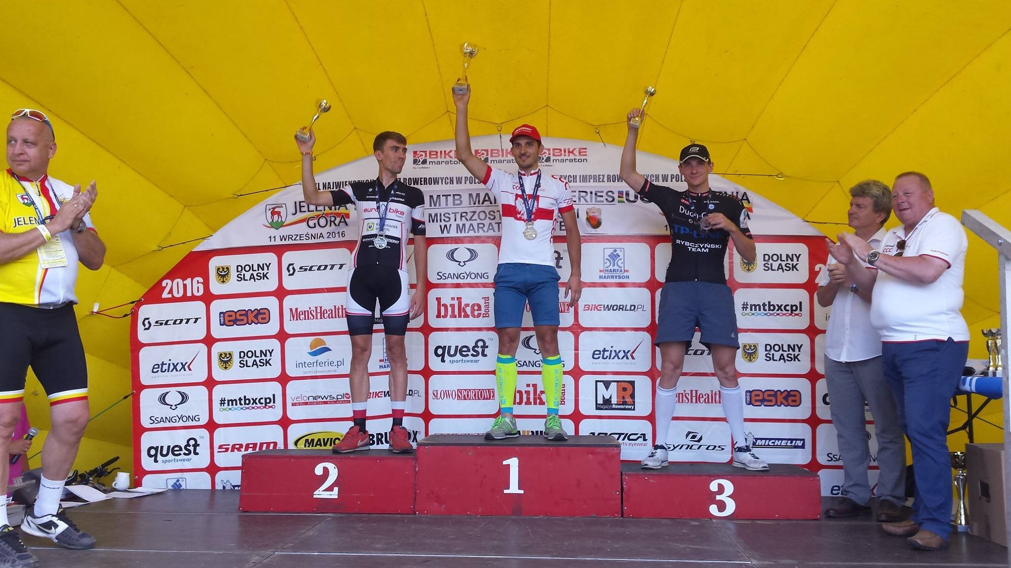 Bartłomiej Oleszczuk (Duda Cars TP-Link Rybczyński Team) – Mistrzostwa Polski w Maratonie MTB, Jelenia Góra