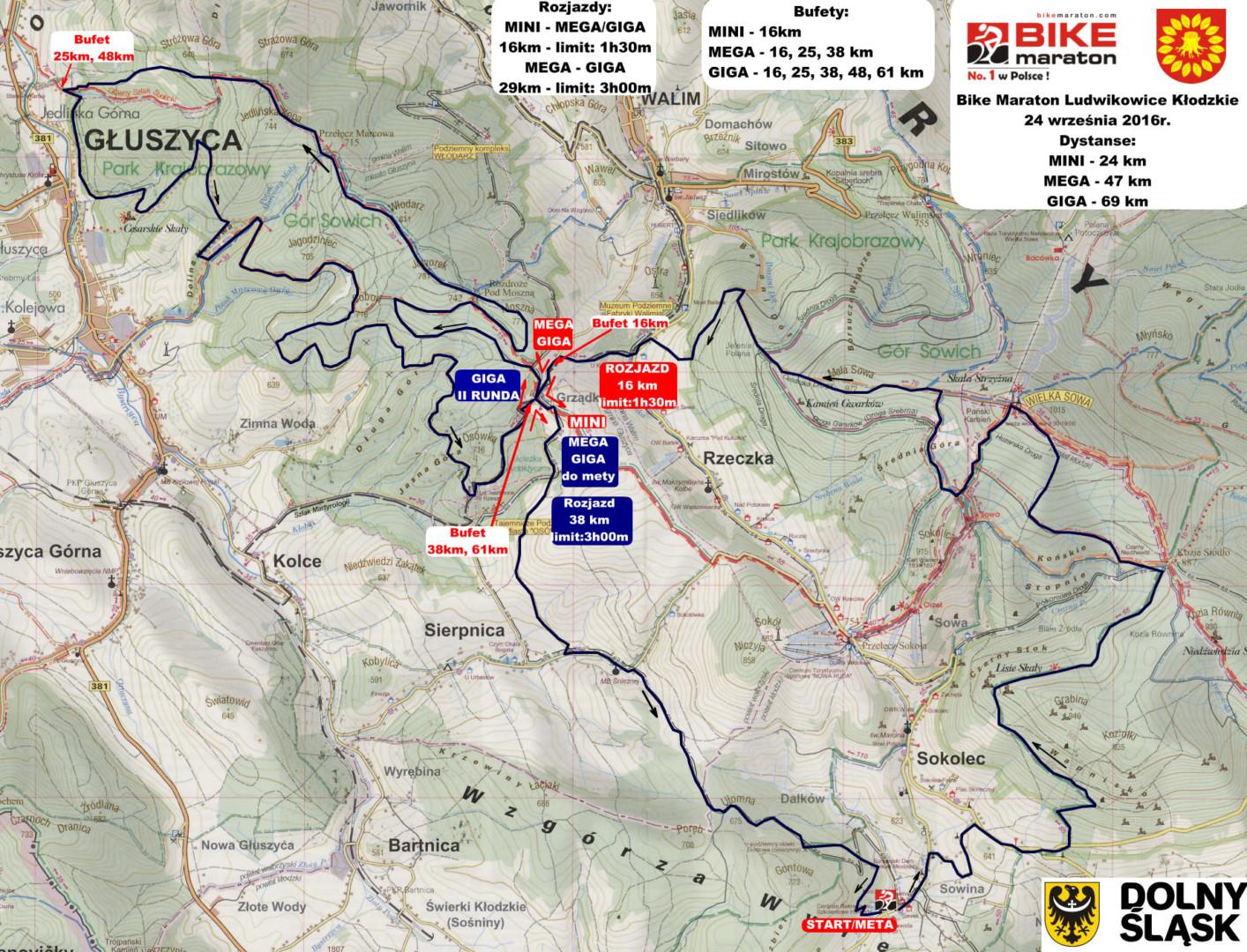 bike-maraton-ludwikowice-mapa