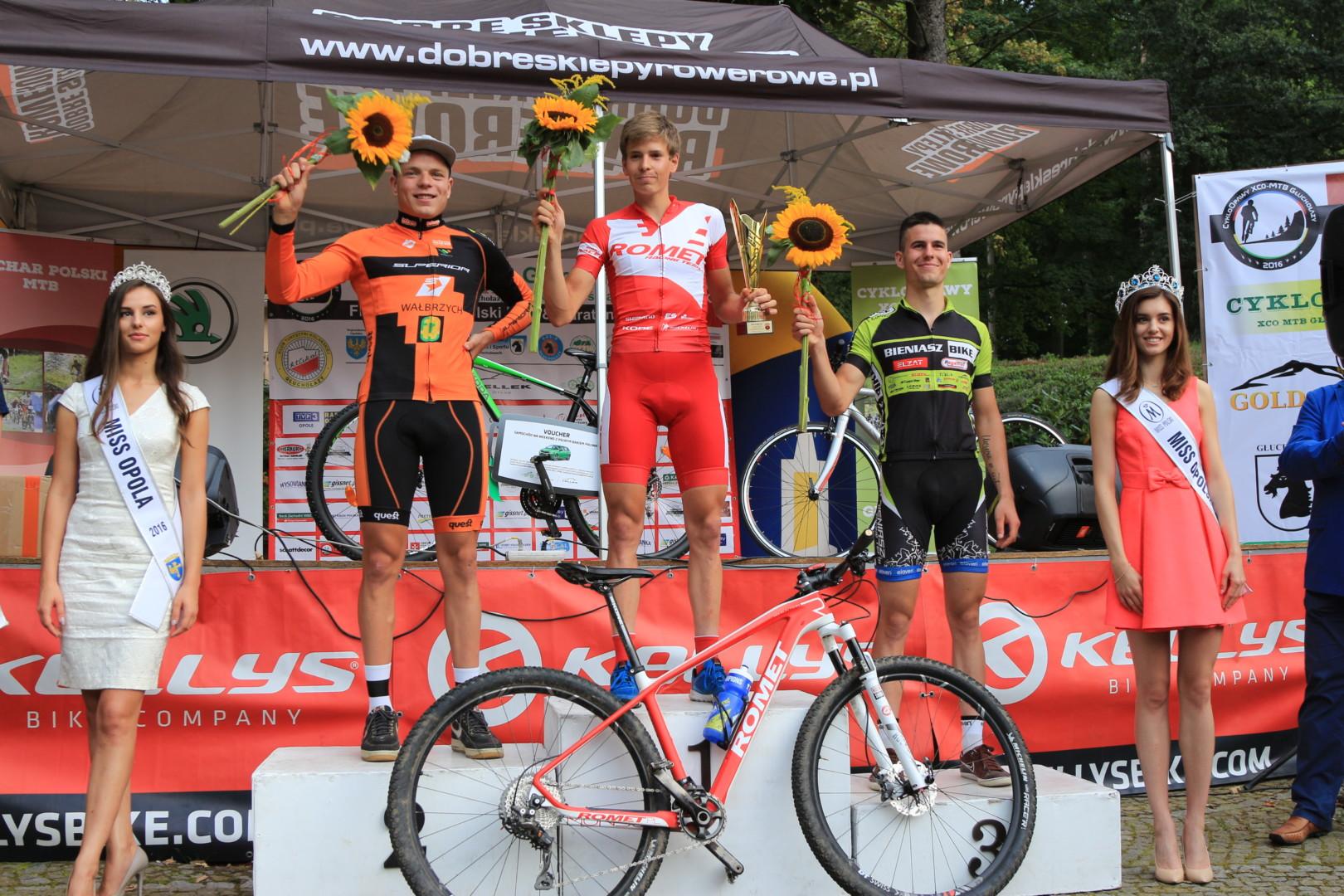 Maciej Jeziorski (Romet MTB Team) – Finał Pucharu Polski XCO, Głuchołazy
