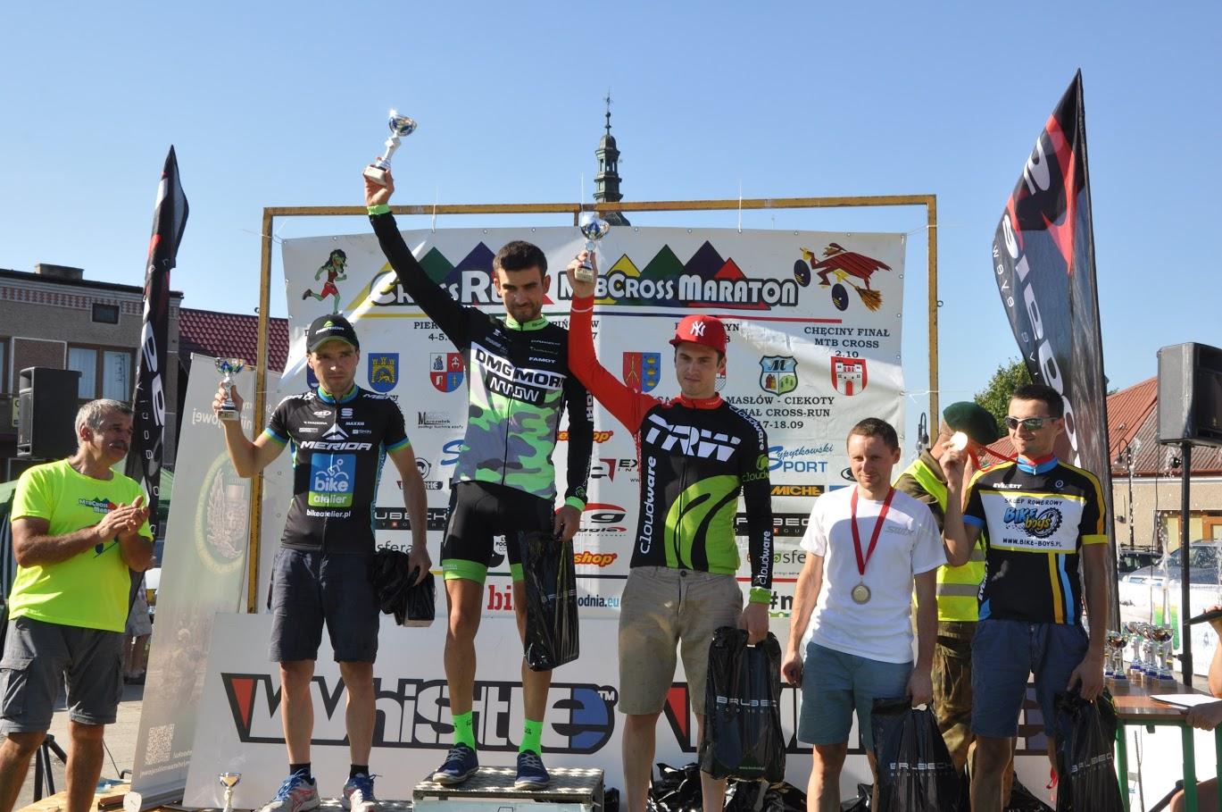 Kamil Pomarański (DMG Mori Cyclo Trener Team) – ŚLR MTB Cross Marathon, Bodzentyn