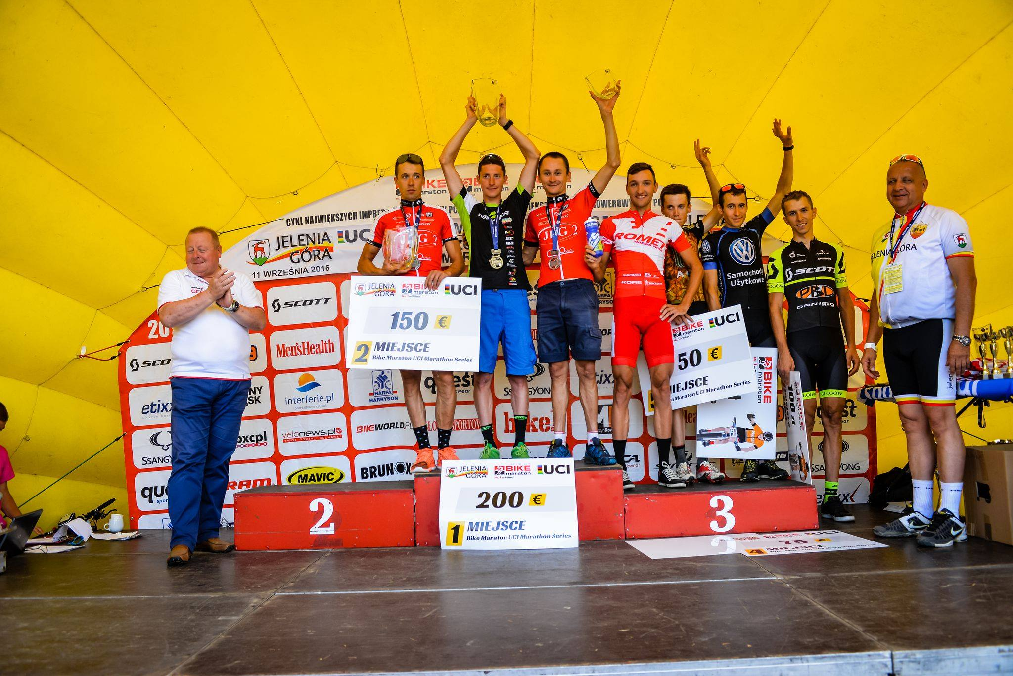 Michał Ficek (Volkswagen Samochody Użytkowe MTB Team) Mistrzostwa Polski w Maratonie MTB, Jelenia Góra