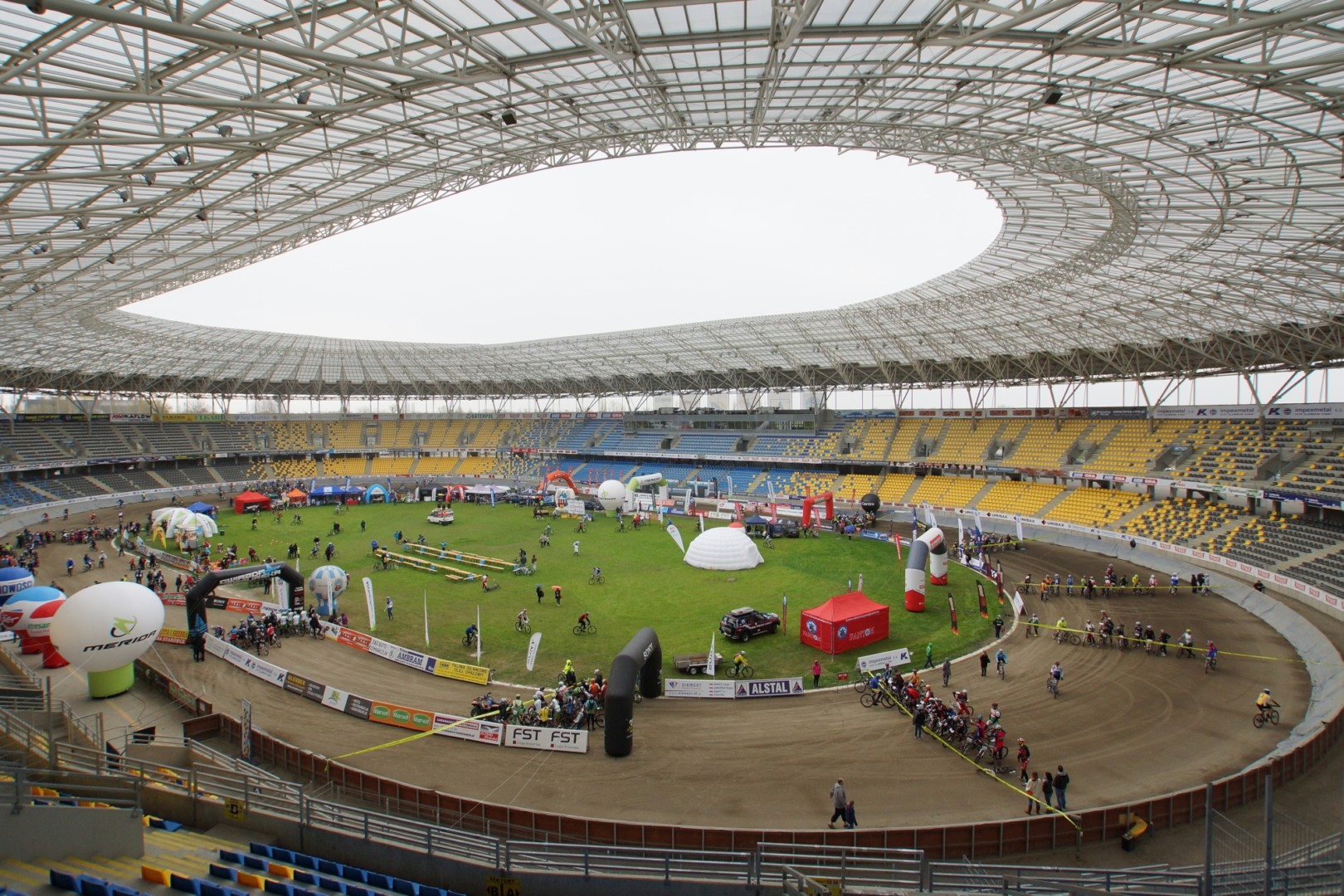 Mazovia MTB Marathon na Motoarenie w Toruniu