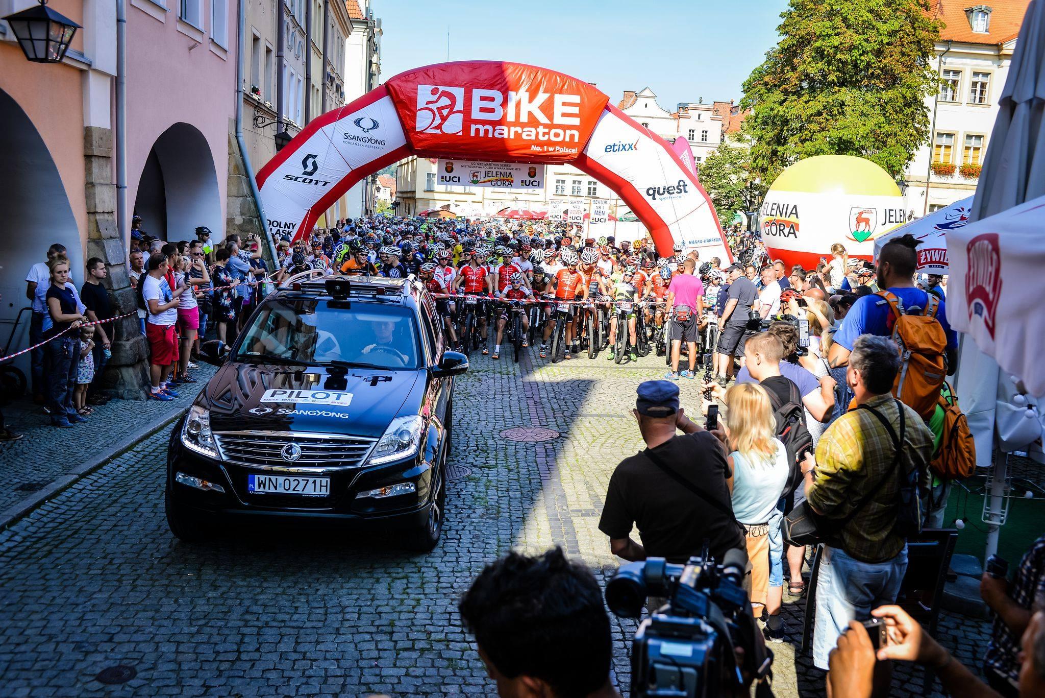 Łukasz Klimaszewski (Mitutoyo AZS Wratislavia) – Mistrzostwa Polski w Maratonie MTB, Jelenia Góra