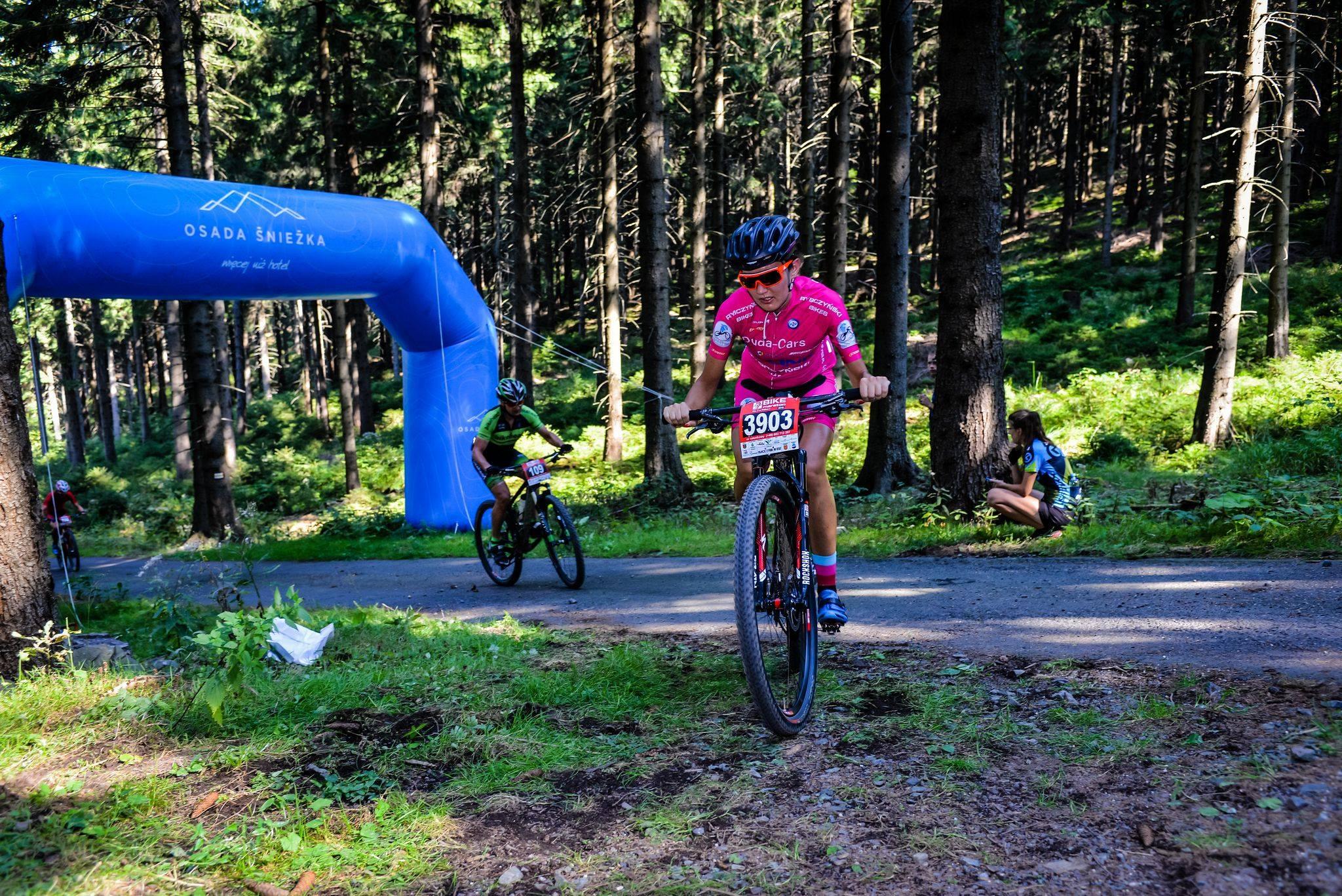 Paulina Bielińska (Duda Cars TP-LINK Rybczyński Bikes) – Mistrzostwa Polski w Maratonie MTB, Jelenia Góra