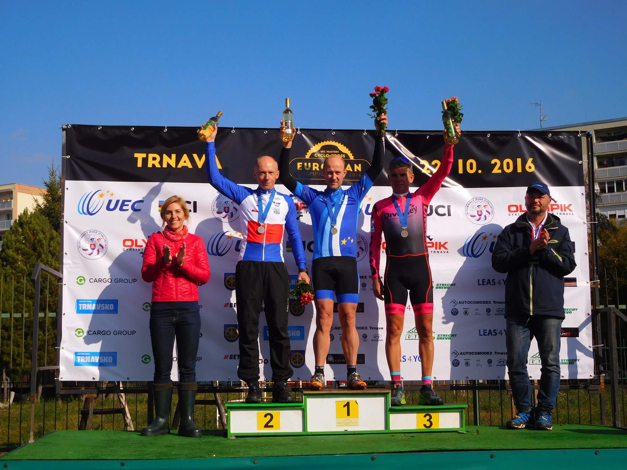 Diversey Team na Mistrzostwach Europy Masters CX, Trnava