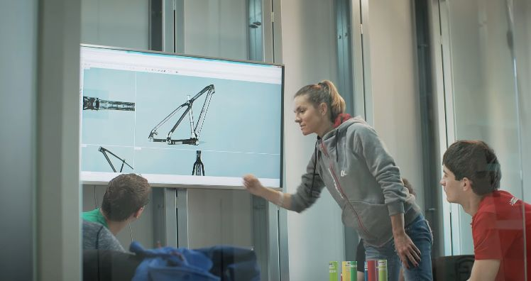 Zobacz jak powstał rower Mai Włoszczowskiej [wideo]
