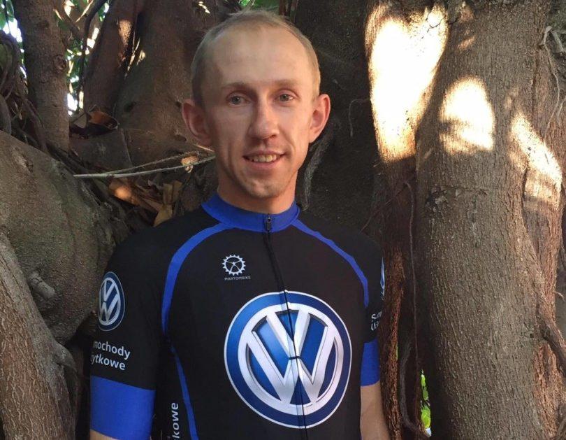 Marek Konwa w składzie Volkswagen Samochody Użytkowe MTB Team
