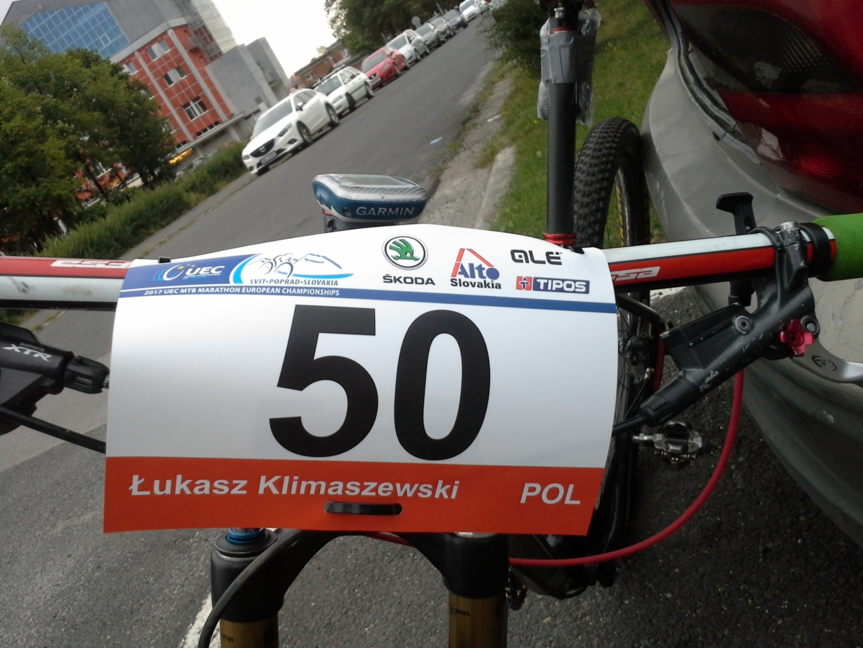 Łukasz Klimaszewski (Mitutoyo AZS Wratislavia) – Mistrzostwa Europy XCM, Słowacja
