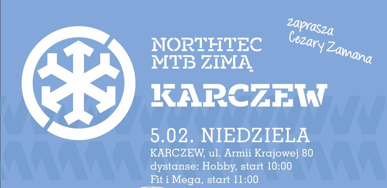 Zaproszenie do Karczewa na II etap Northtec MTB Zimą 2017
