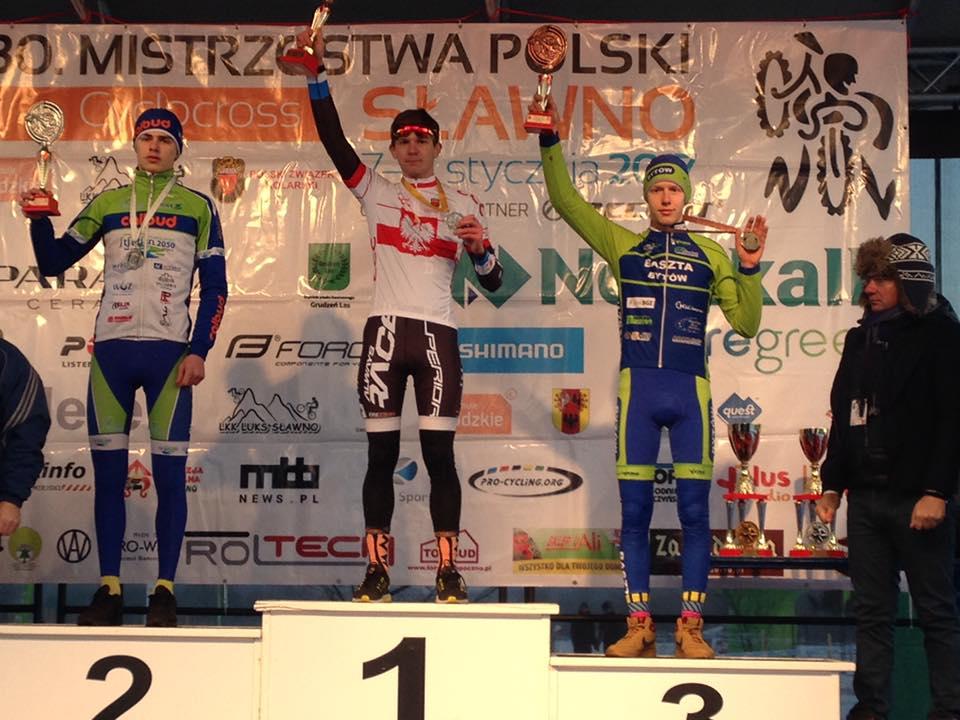 Radosław Rocławski (Baszta Bytów) – Mistrzostwa Polski CX, Sławno