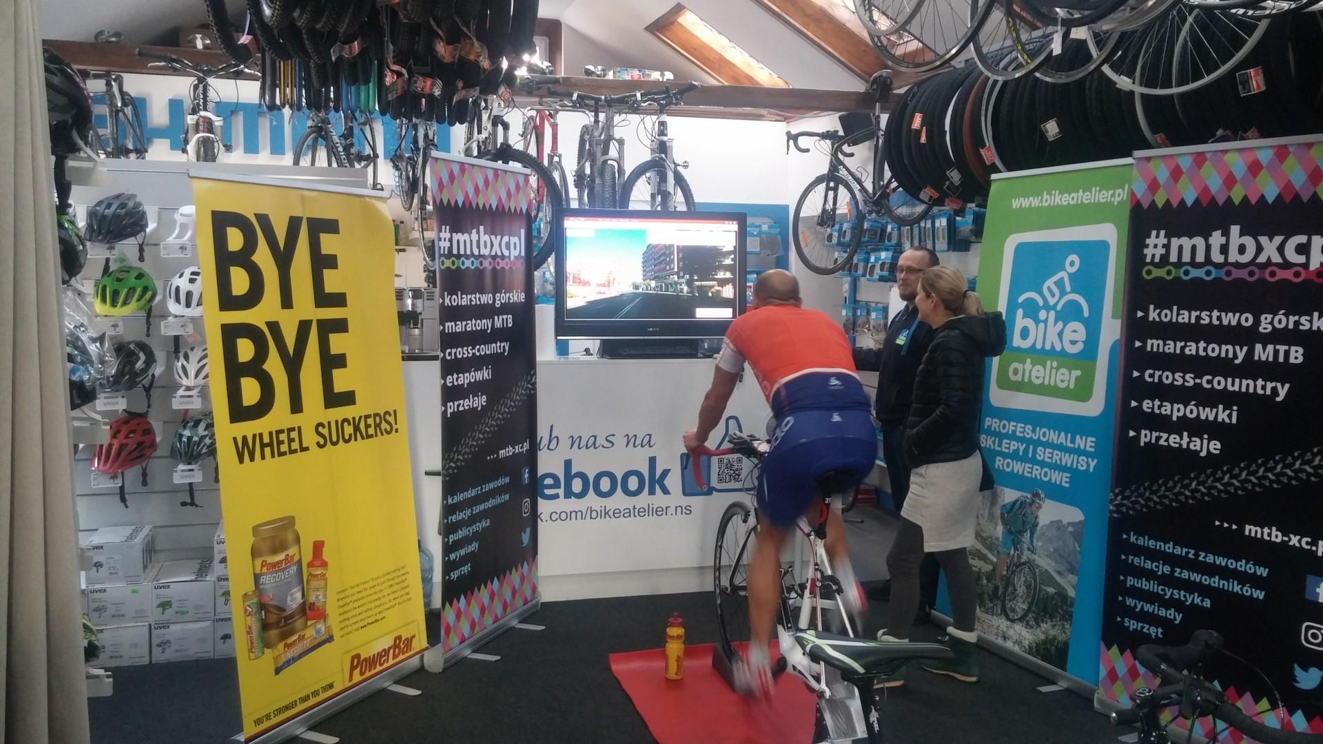 Zacięta rywalizacja w Tour de Bike Atelier w Nowym Sączu