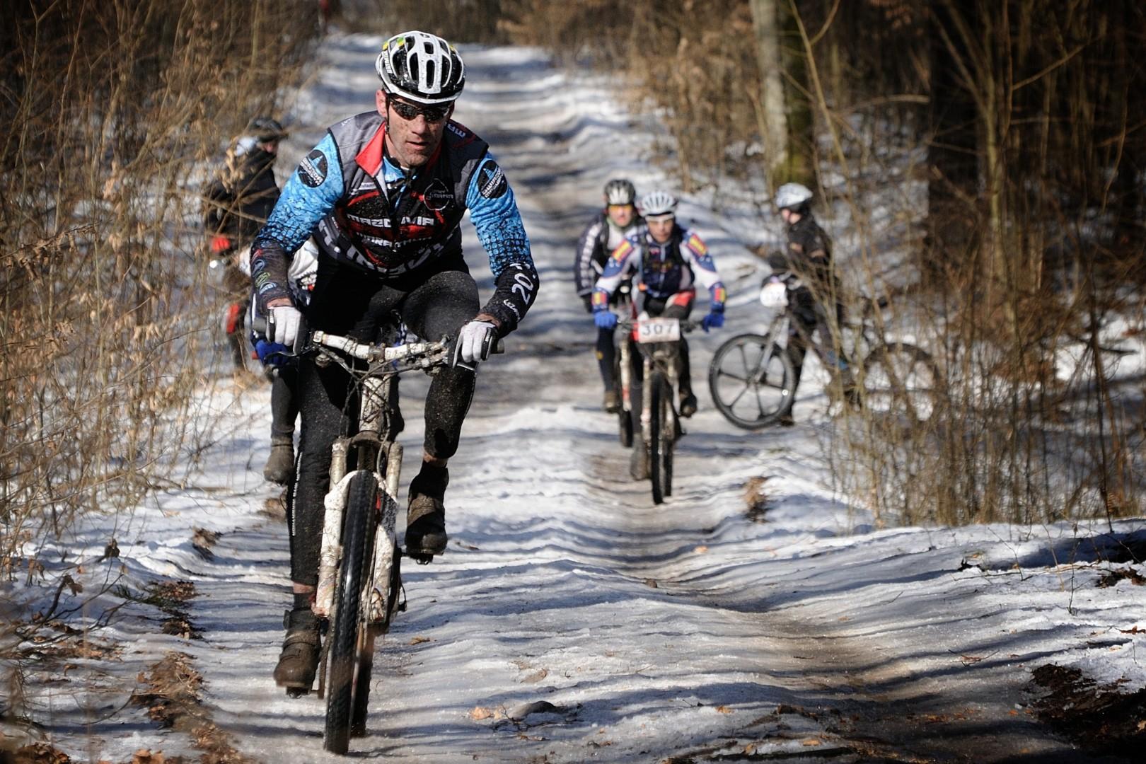 Zapowiedź finału Northtec MTB zimą w Długosiodle