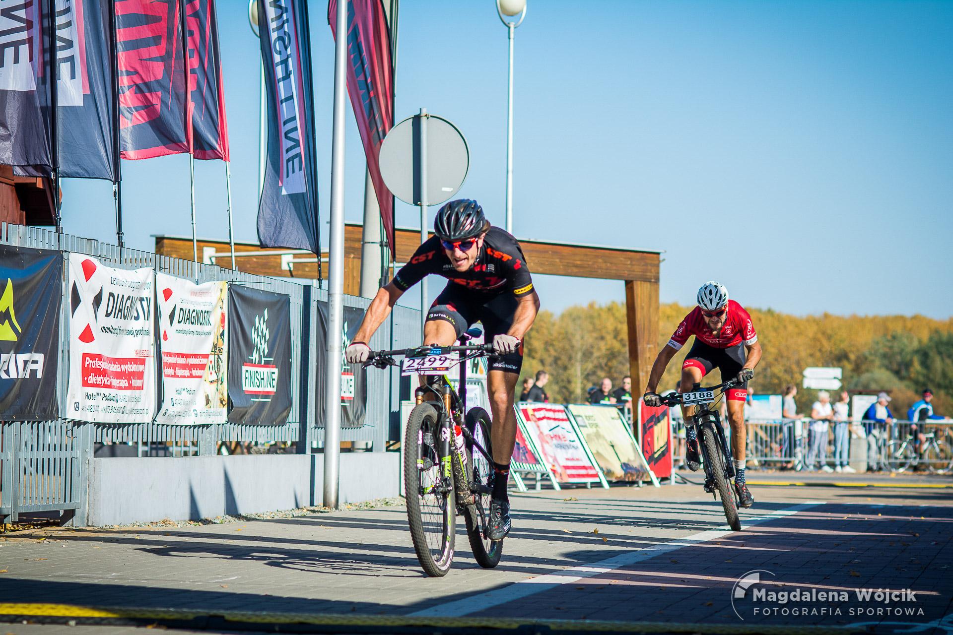 Wojciech Halejak i Zuzanna Krzystała wygrywają klasyfikację generalną Bike Atelier MTB Maraton 2018