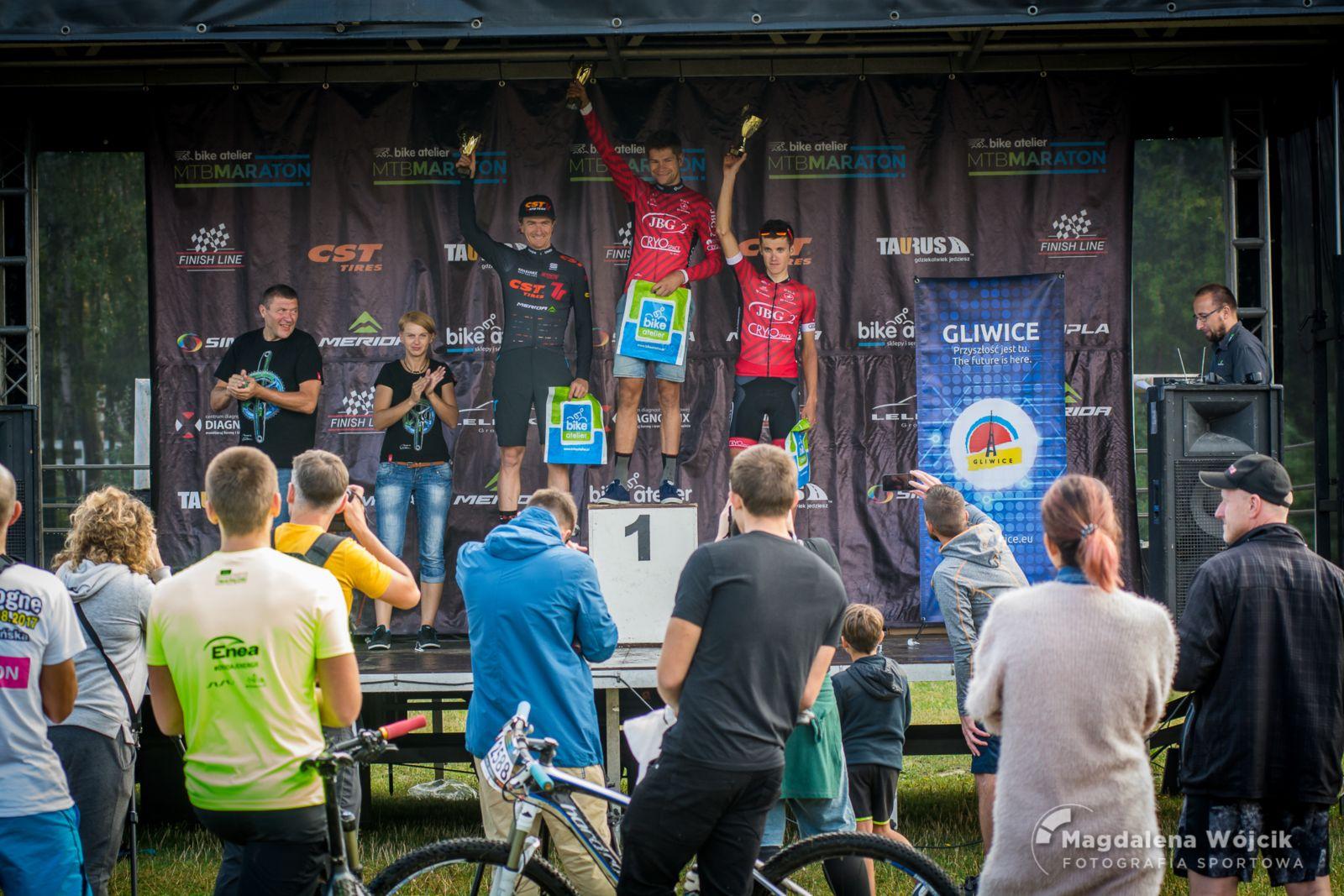 Brudni i szczęśliwi – Bike Atelier MTB Maraton odwiedził Gliwice