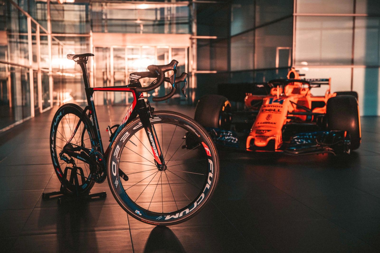 Team Bahrain – Merida będzie współpracować z McLarenem
