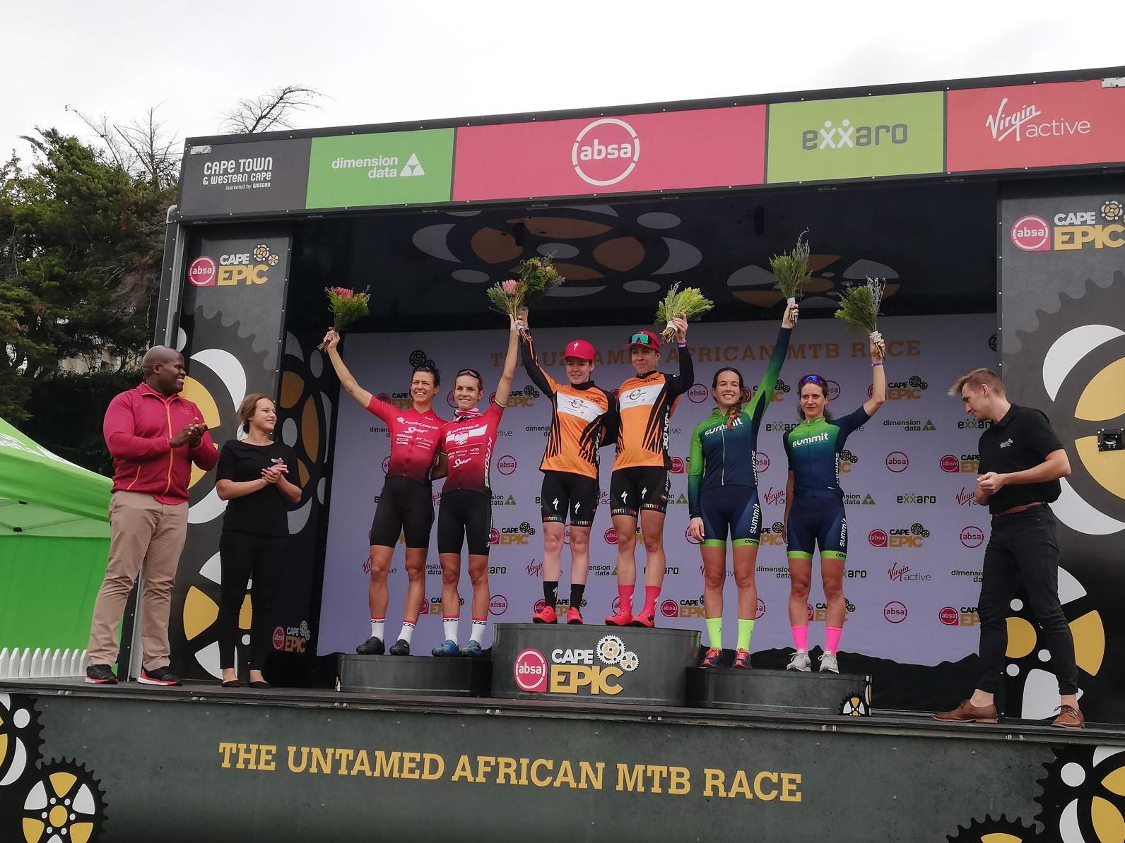 Znakomite otwarcie Absa Cape Epic w wykonaniu Kross-Spur Racing