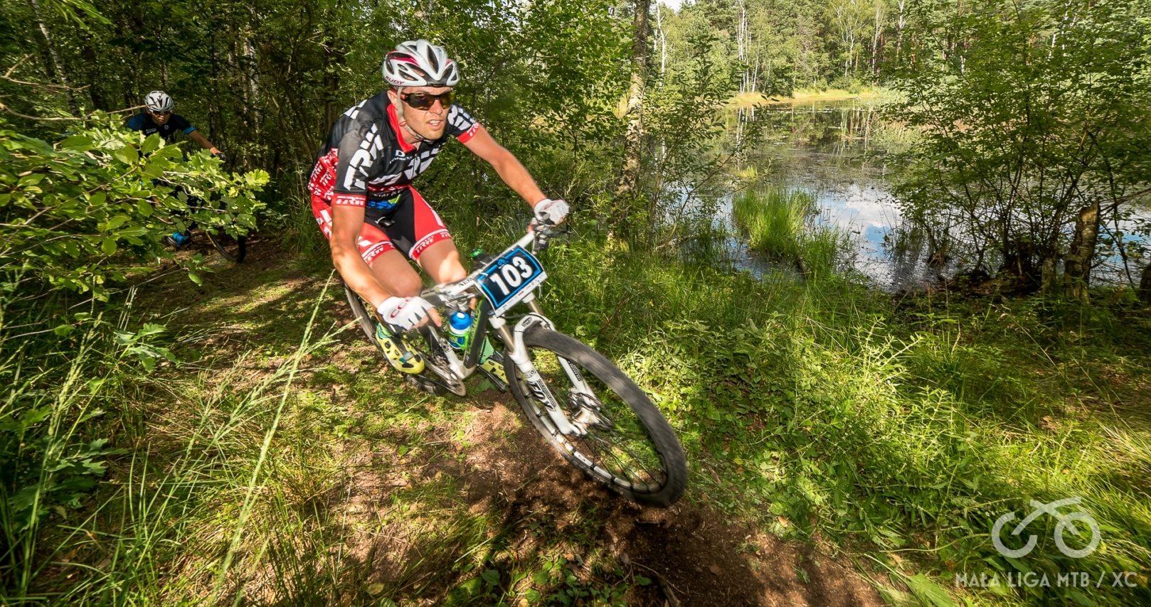 Adrian Jusiński (TRW MTB Racing) – Mała Liga XC, Zagórze