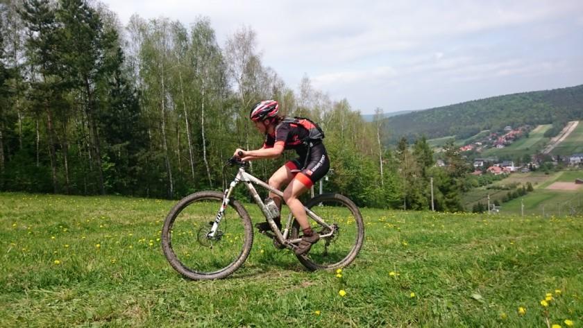 Ania Wajzer (Sengam Sport Racing Team) – METROBIKES.pl MTB Cross Maraton, Miedziana Góra
