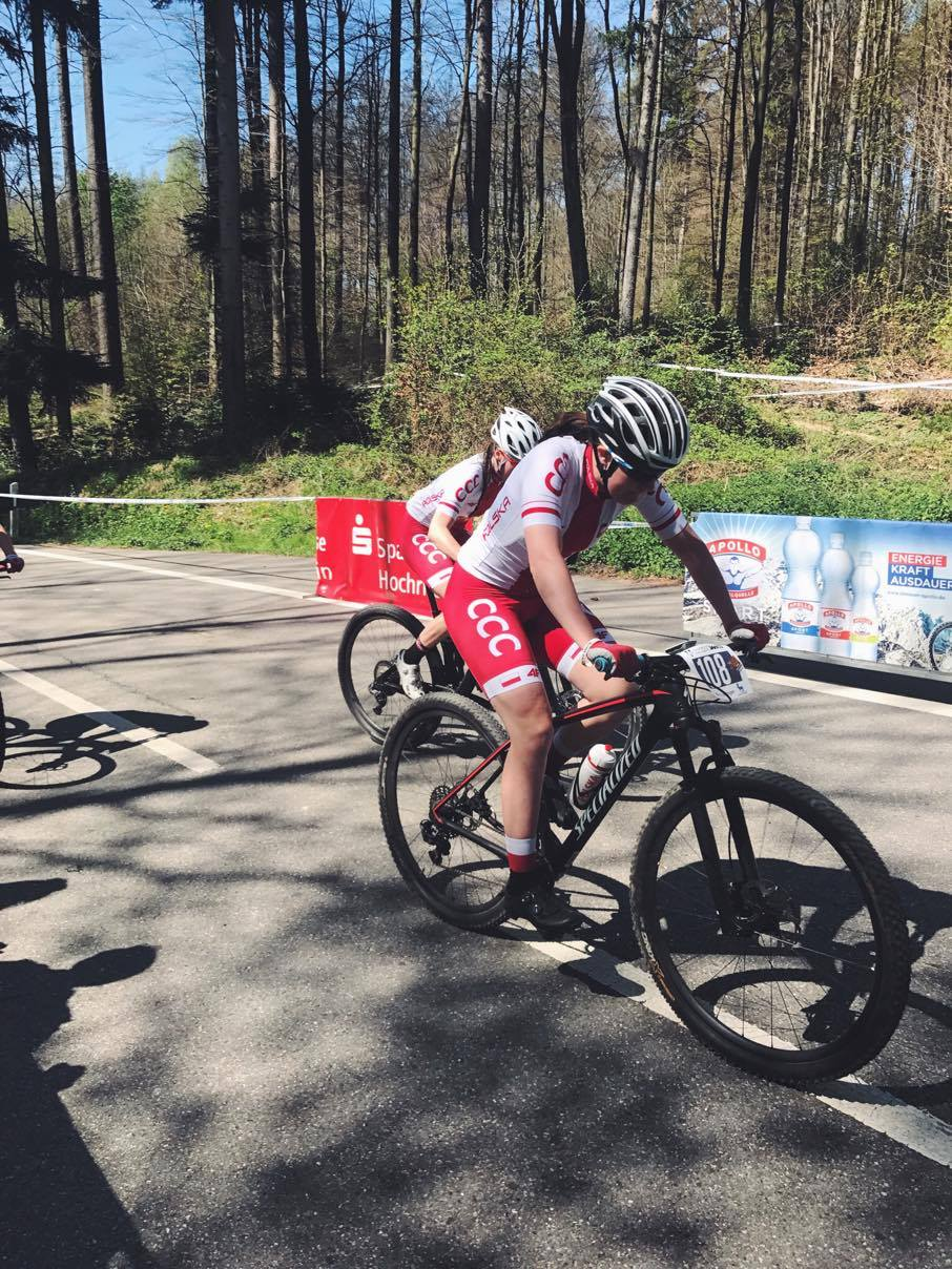 Anna Gdańska (Warszawski Klub Kolarski) – UCI Junior Series, Bad Sackingen, Niemcy 2017 2