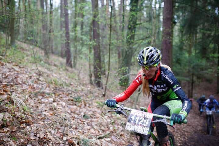 Anna Urban (TRW MTB Racing) – Bike Maraton, Miękinia