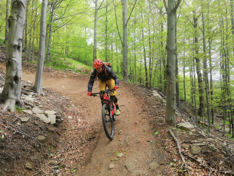 Babia Góra Trails – flow po małopolskich singlach