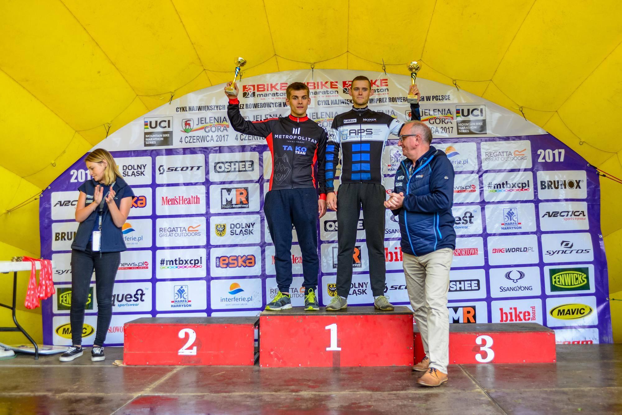 Bartosz Borowicz (APS Polska Cozmobike) – Bike Maraton, Jelenia Góra