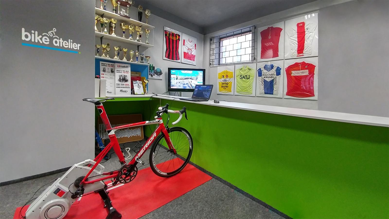 Rozkręć się z Bike Atelier na Zwifcie