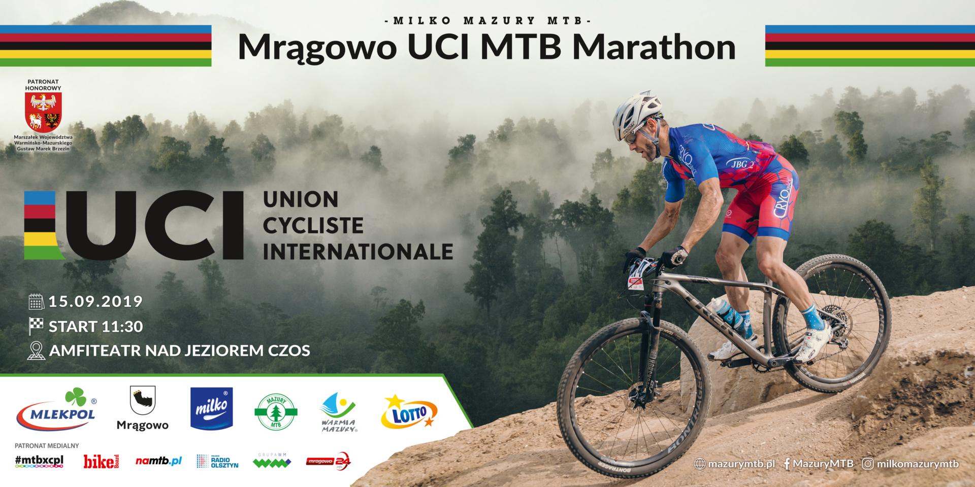 UCI MTB Marathon – 15 września Mrągowo