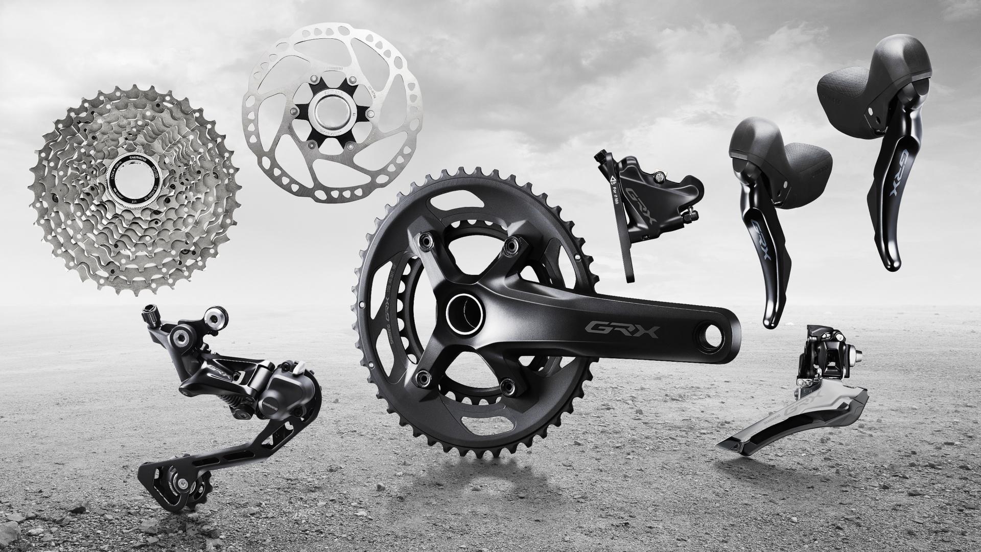 Shimano GRX – pierwsza grupa do graveli i rowerów wyprawowych