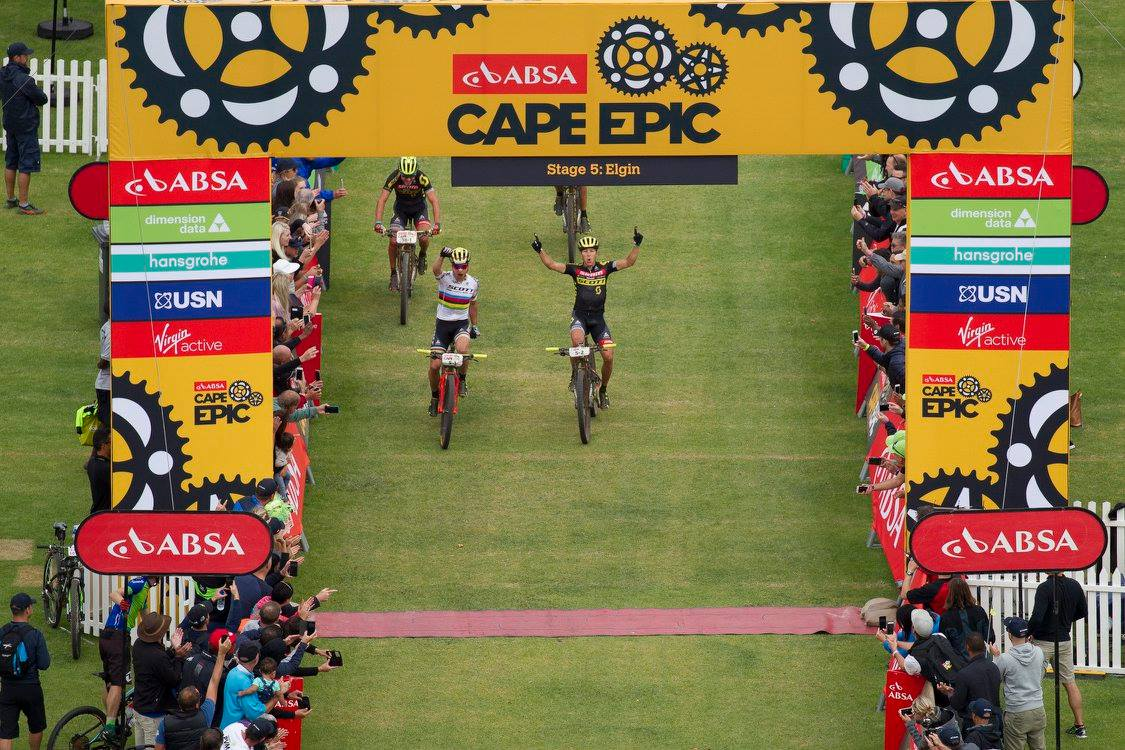 Raport z Cape Epic 2017 #6 – Etap 5